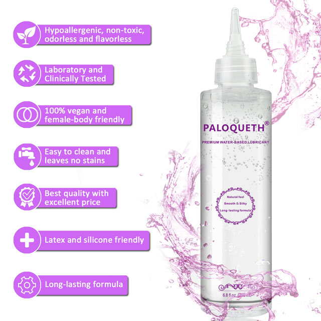 Paloqueth 200ml Natural Silky Water Based Lube